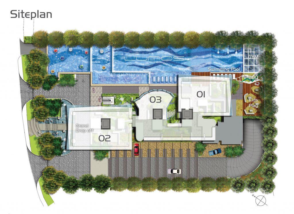 The Lumos Site Plan Singapore